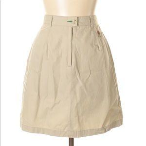Tommy Hilfiger Tan Skirt